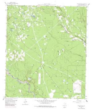 Outlaw Pond topo map