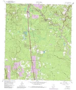 Tamina topo map