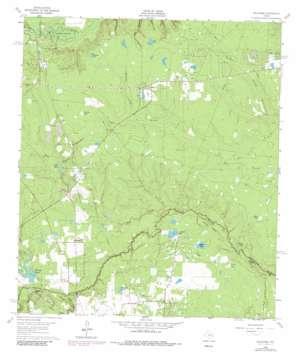Oklahoma topo map