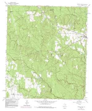 Magnolia West topo map