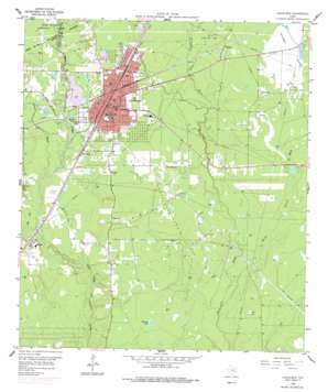 Cleveland topo map