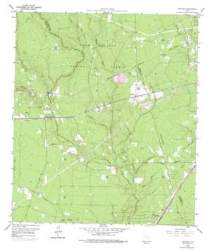 Fostoria topo map