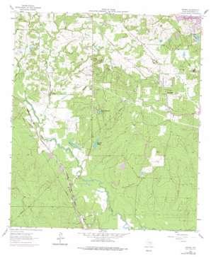 Keenan topo map