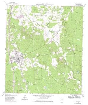 Willis topo map