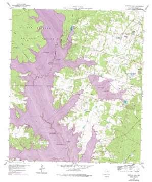 Shepard Hill topo map