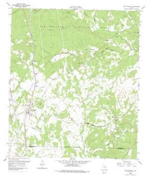 New Waverly topo map