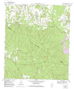 San Jacinto topo map