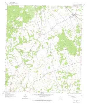 Roans Prairie topo map