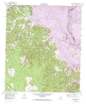 Stephen Creek topo map