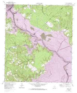 Carlisle topo map