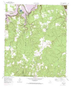 Staley topo map