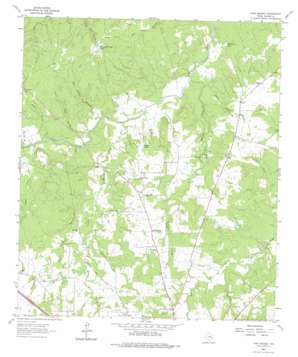 Pine Prairie topo map