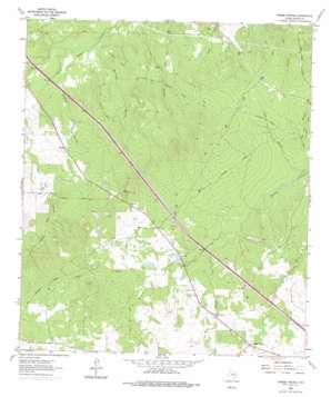 Crabbs Prairie topo map