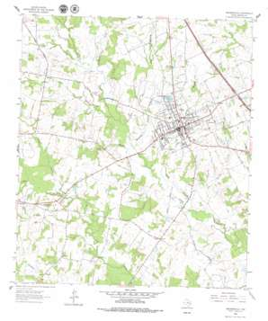 Madisonville topo map