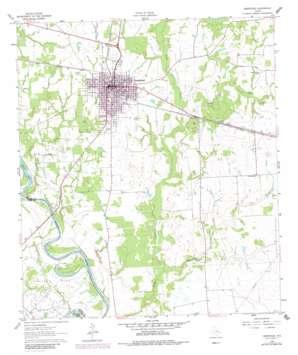 Hempstead topo map