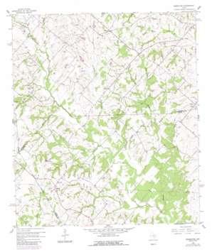 Greenvine topo map