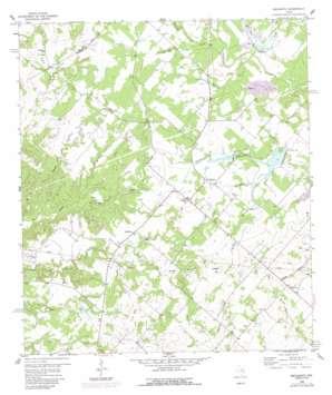Nechanitz topo map