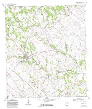 Burton topo map