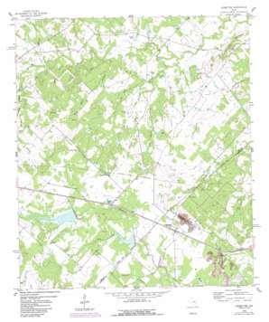 Ledbetter topo map