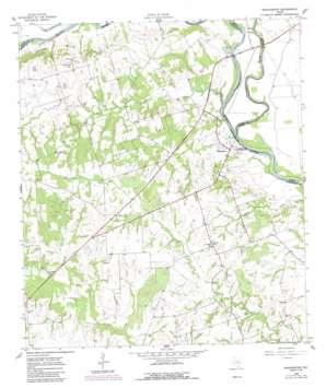 Washington topo map