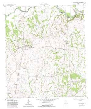 Independence topo map