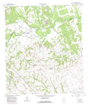 Gay Hill topo map