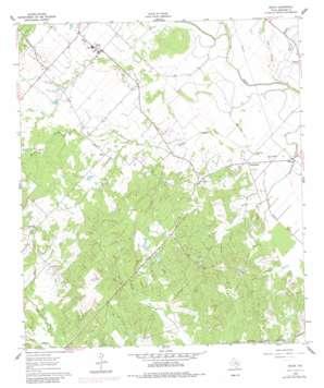 Snook topo map
