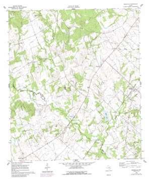 Deanville topo map