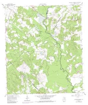 Ferguson Crossing topo map