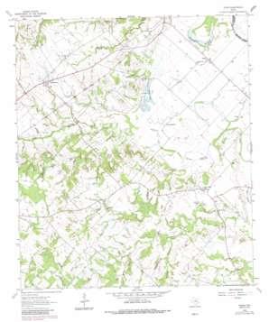 Tunis topo map