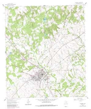 Caldwell topo map