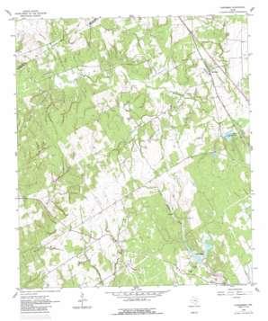 Chriesman topo map