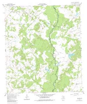 Reliance topo map