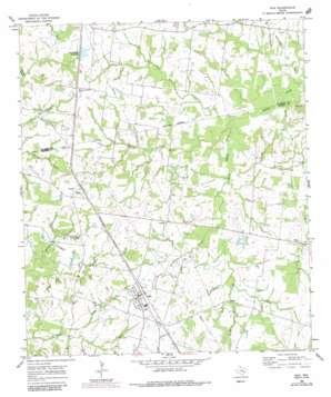 Iola topo map