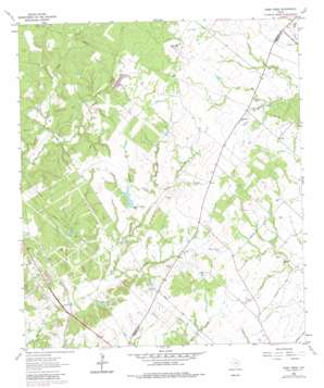 Dunn Creek topo map