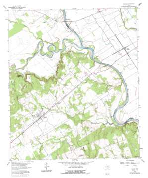Gause topo map