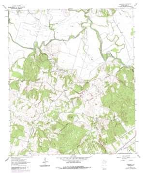 Hanover topo map
