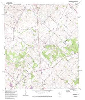 Creedmoor topo map