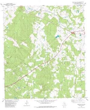 Smithville Nw topo map