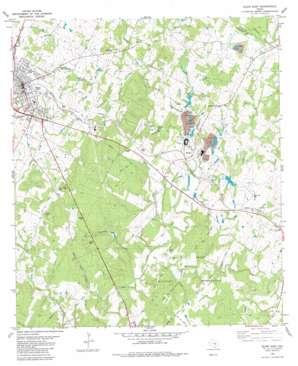 Elgin East topo map