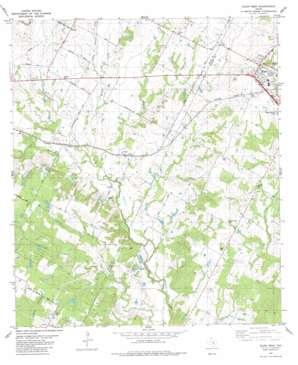 Elgin West topo map