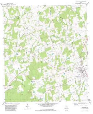 Lexington topo map
