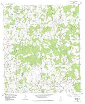 Beaukiss topo map