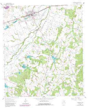 Thorndale topo map