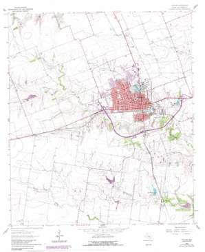 Taylor topo map