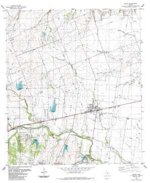 Hutto topo map