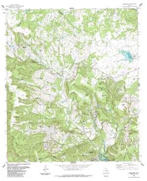 Nameless topo map