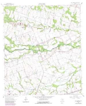 San Gabriel topo map