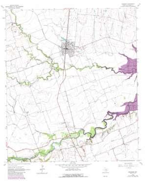 Granger topo map