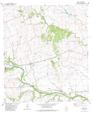 Weir topo map